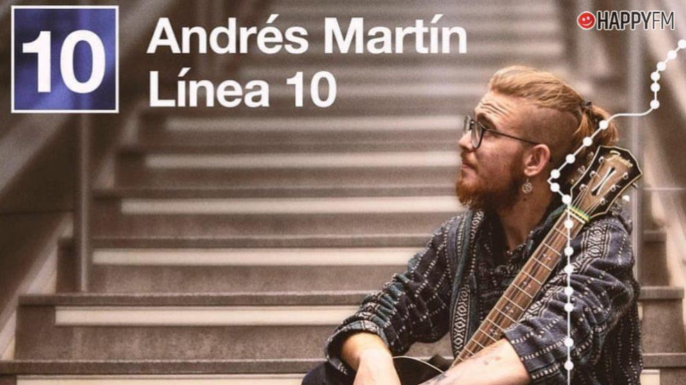 Andrés Martín presenta su primer disco 'Linea 10'