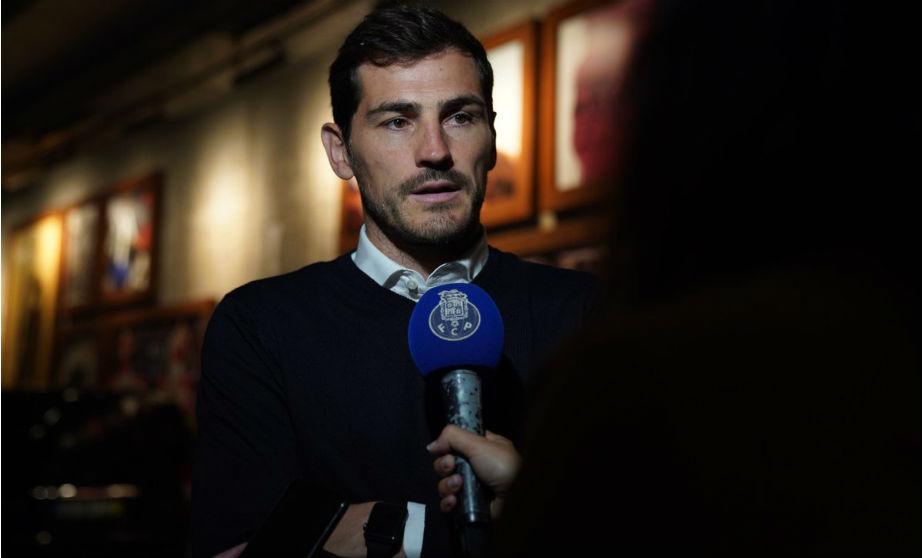 Casillas, en una aparición pública. (Foto: FC Porto)