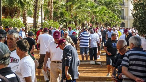 Competiciones de petanca en Lloret de Mar (Foto: iStock)