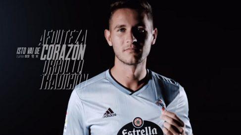 Jorge Sáenz, nuevo fichaje del Celta (Real Club Celta)