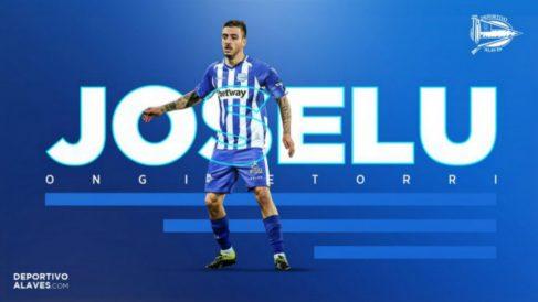 Joselu, nuevo fichaje del Alavés (Deportivo Alavés)