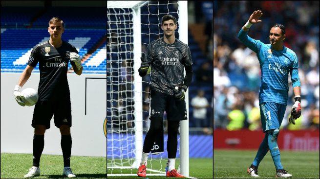 Con Keylor Navas sigue el lío en la portería del Real Madrid
