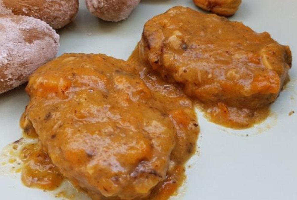 Receta de Filetes de soja texturizada en salsa