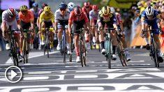 Tour de Francia: clasificación de la etapa 10 de hoy, 15 de julio. (AFP)