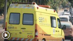 Una ambulancia catalana en manos de yihadistas sirios.