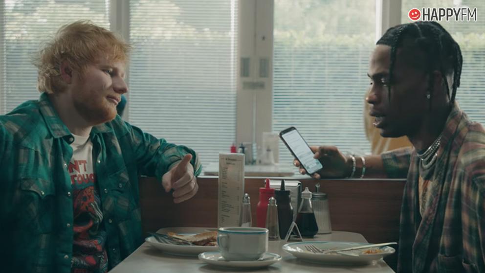 Antisocial, de Ed Sheeran y Travis Scott, tiene una curiosa historia