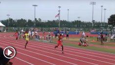 El joven de 13 años que se quedó a cuatro segundos del récord del mundo de 400.