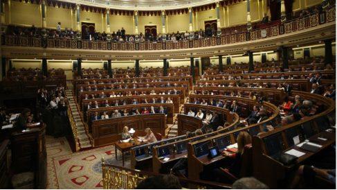 Pleno del Congreso de los Diputados en la presente legislatura. (Foto: Europa Press)