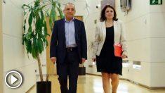 Adriana Lastra y Rafael Simancas