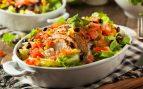 Receta de ensalada de pollo con chile y lima