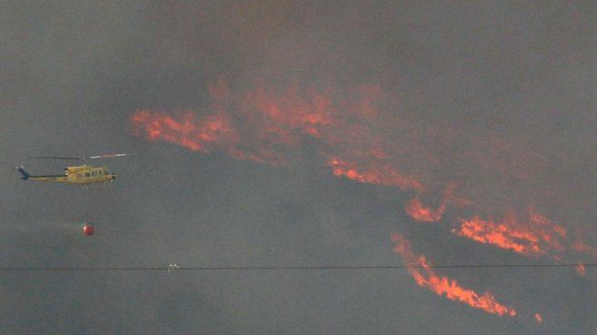 Incendio en Benejama (Alicante)