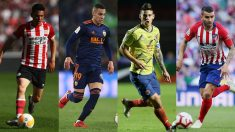 Al fichaje de James por el Atlético le sucederían varios movimientos.