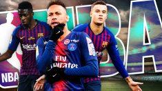 El Barcelona pretende con Neymar un fichaje al estilo NBA.