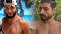 Omar Montes y Fabio se bañan desnudos