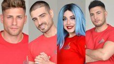 Los cuatro finalistas de 'Supervivientes 2019'
