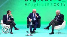 José María Aznar y Felipe González intervienen en un debate sobre economía digital