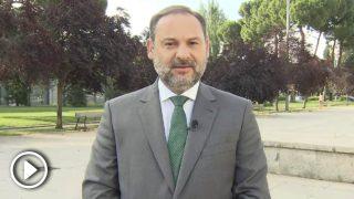 El ministro de Fomento, José Luis Ábalos, en una entrevista en Telecinco