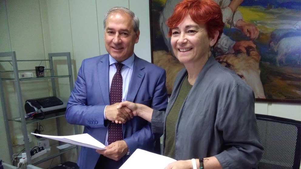 El PSOe y el BNG firman un acuerdo en la Diputación de Lugo. Foto: Europa Press