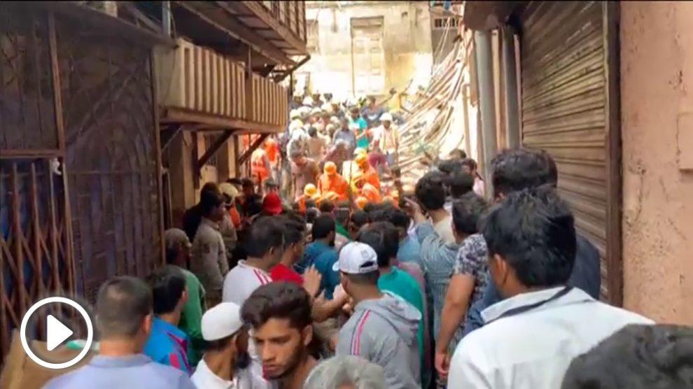 Accidente en Bombay.