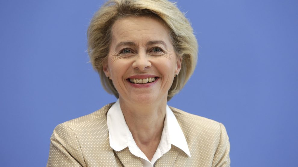 Ursula Von der Leyen, nueva presidenta de la CE @Getty