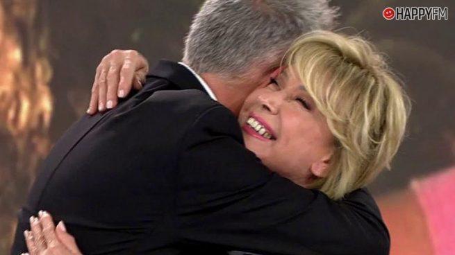 Mila Ximénez, muy emocionada en 'Sálvame' por el gran sacrificio de Kiko Hernández