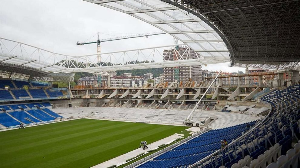 Obras Estadio de Anoeta (Real Sociedad)
