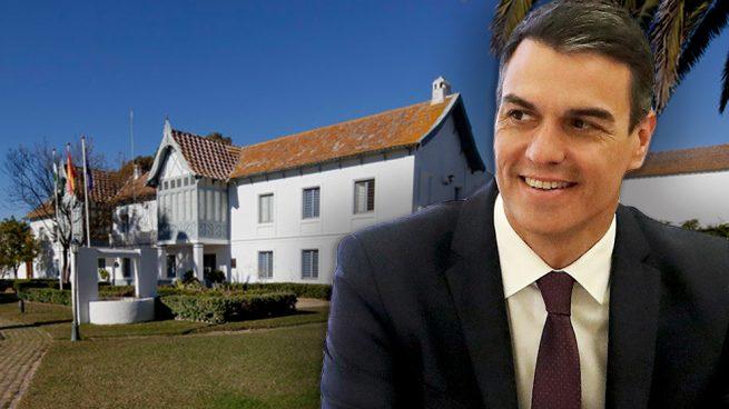 Sánchez gasta 191.000 € en tener a punto el palacio de Las Marismillas para veranear este año