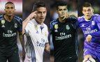 Apenas quedan jugadores del Plan B que dio la Liga al Madrid de Zidane en 2017.