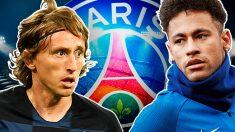 El PSG tanteará a Modric si vende a Neymar.