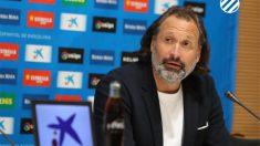 Rufete, director deportivo del Espanyol (@RCDEspanyol)