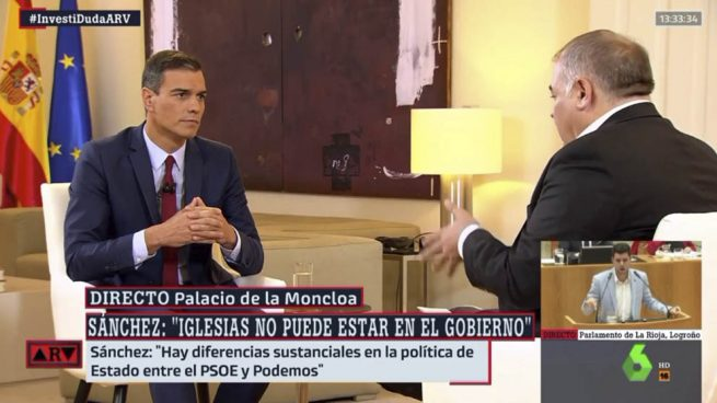 Sánchez asegura que la abstención de Unidas Podemos sería «un voto vergonzante»