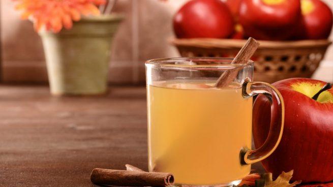 bebidas veraniegas con zumo de manzana