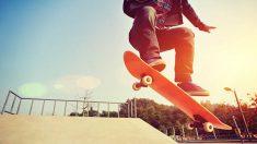Aprende cómo saltar con un skate