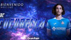 Marc Cucurella, nuevo fichaje del Getafe (Getafe Club de Fútbol)
