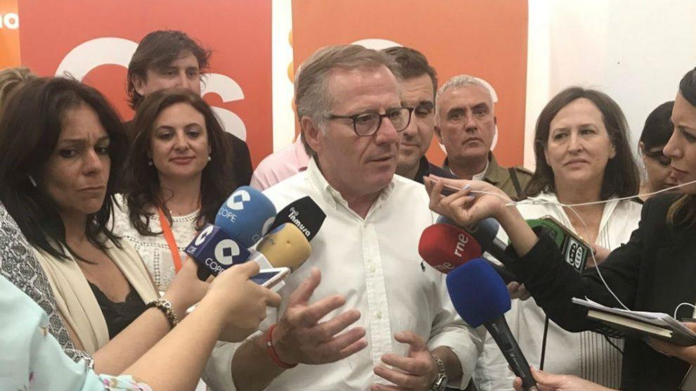 Eduardo de Castro, presidente de Melilla.
