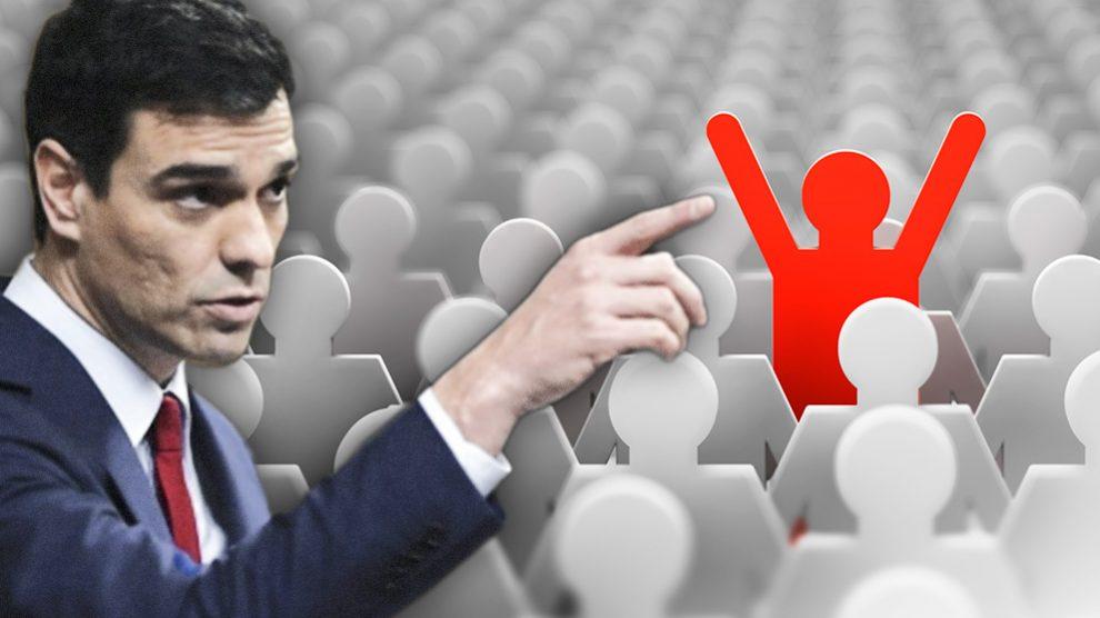 Pedro Sánchez ha creado medio millar de puestos 'a dedo' desde que está en funciones