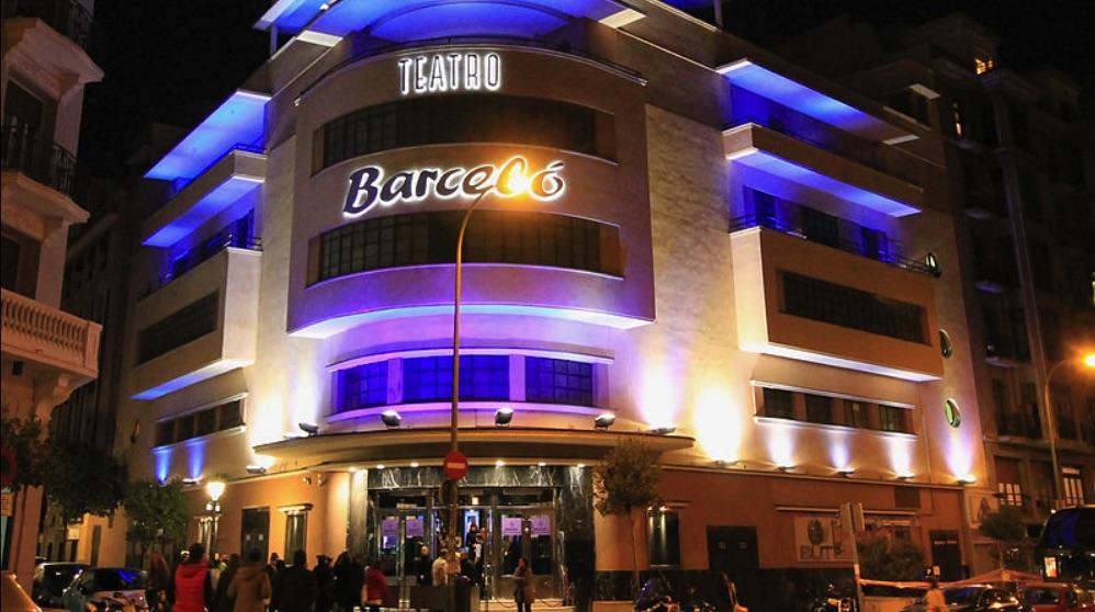Fachada de la discoteca Teatro Barceló, antigua discoteca Pachá. (Foto. Madrid)