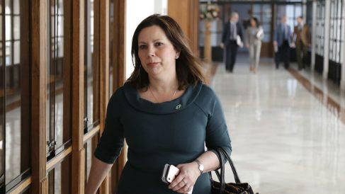 La diputada de Vox en el Parlamento andaluz Ángela Mulas.