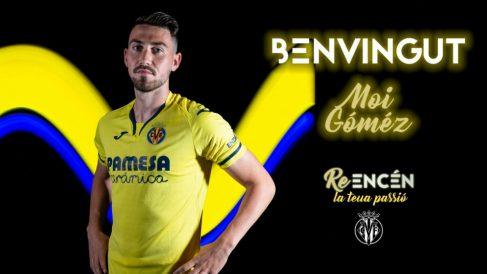 Moi Gómez vuelve al Villarreal (Villarreal Club de Fútbol)