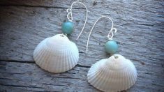 Pasos para hacer unos pendientes con conchas y caracolas de mar