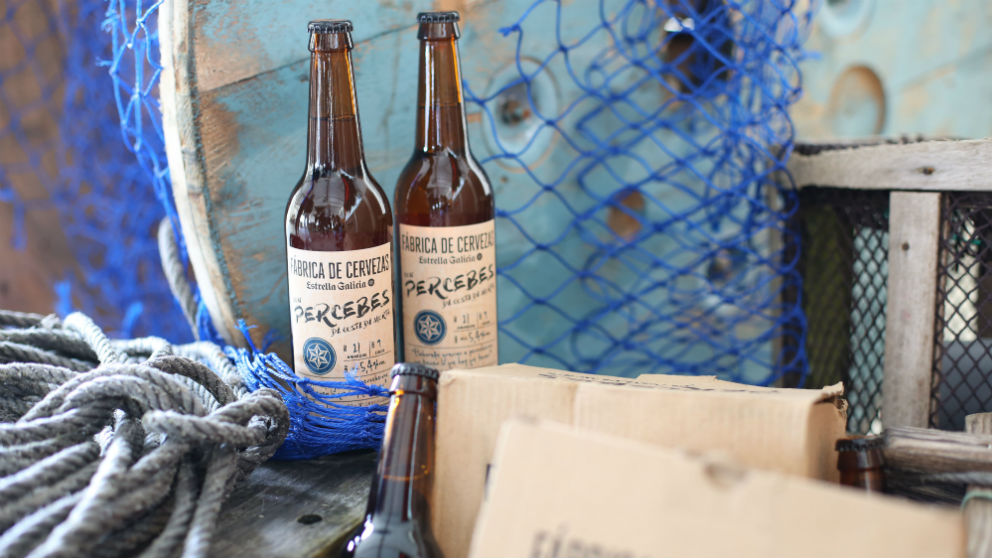 Estrella Galicia lanza una nueva edición de su cerveza de percebes (Foto: Estrella Galicia)