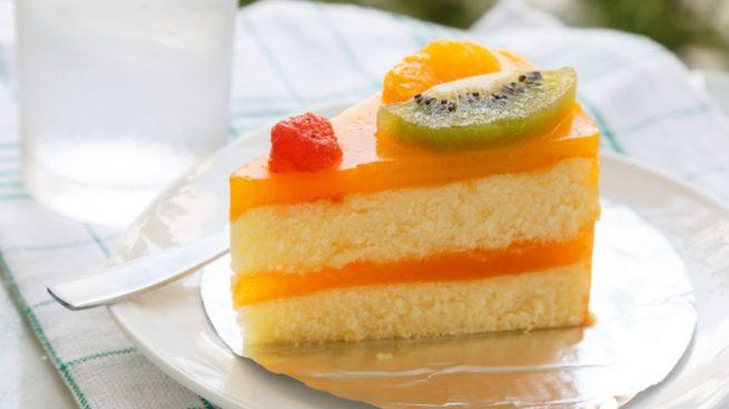 Receta de tarta de cítricos light