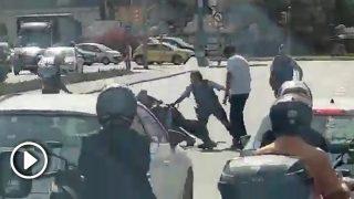detencion-mossos-plaza-españa