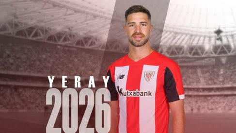 Yeray Álvarez renueva con el Athletic hasta 2026 (Athletic Club)