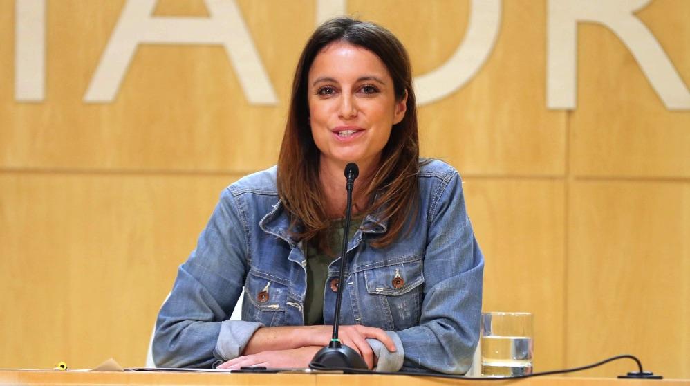 Andrea Levy, concejal de Cultura, Turismo y Deporte de Madrid.