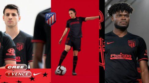 Segunda equipación del Atlético de Madrid para la temporada 2019/2020 (Club Atlético de Madrid)