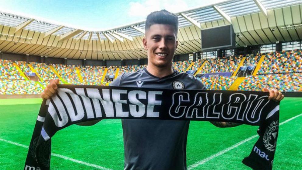 Cristo, nuevo jugador del Udinese. (udinese.it)