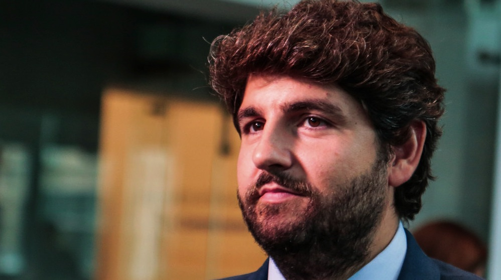 Fernando López Miras, presidente de Murcia. (Foto. EU)