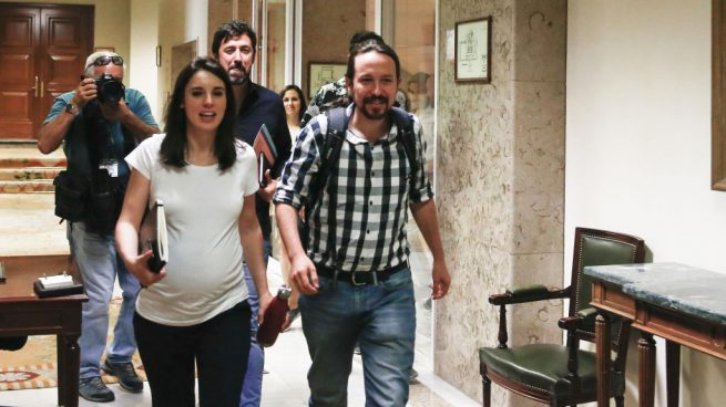 Irene Montero y Pablo Iglesias, líderes de Podemos @Getty
