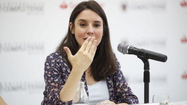 Irene Montero, portavoz de Podemos en el Congreso @Getty